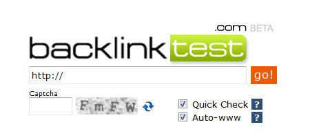 Backlinks checken mit backlinktest